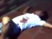 An ninh Xã hội - Hỗn chiến sau va chạm xe, một người gục bên rìa đường