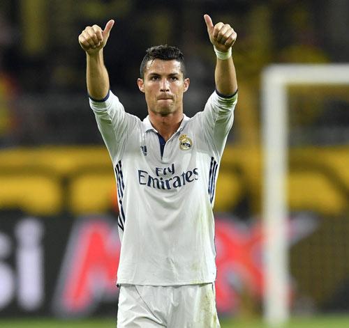 Ronaldo lương 45 triệu bảng/mùa, vẫn thua Messi