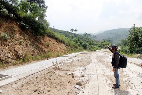 Khu vực thôn Hoa, thị trấn Thạnh Mỹ, huyện Nam Giang, tỉnh Quảng Nam dự định đặt nhà máy thép ngàn tỉ