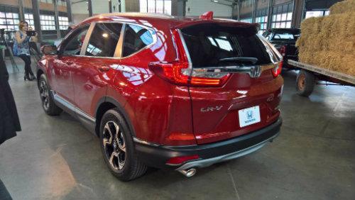"""2017 Honda CR-V ra mắt sớm, làm """"nóng"""" làng SUV - 2"""