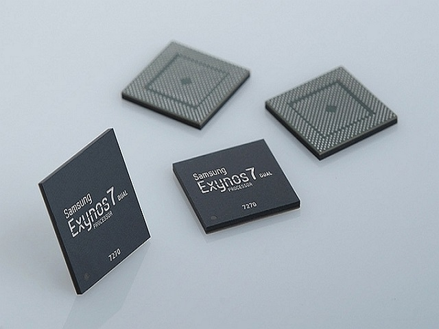 Samsung công bố chip Exynos 7270 mới cho các thiết bị đeo