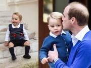 Thời trang - Vì sao Hoàng tử nhí George luôn mặc quần soóc