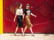 Thời trang - Phong cách chất ngất của cặp chị em Yến Trang- Yến Nhi