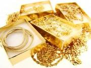 Tài chính - Bất động sản - Giá vàng chiều 14/10: Vàng trong nước cao hơn TG 2 triệu đồng