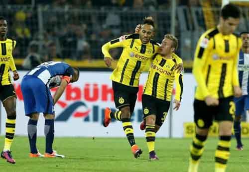 Dortmund - Hertha Berlin: Nóng bỏng đến phút cuối - 1