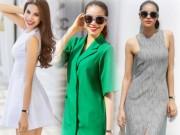 Thời trang - Phạm Hương mặc váy rẻ bèo vẫn sang chảnh, thời thượng