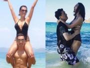 Ca nhạc - MTV - 12 cặp sao Việt cứ ra biển là có cảnh tình tứ