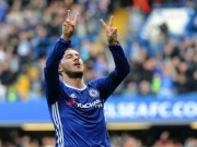 Bóng đá - Chelsea thắng đậm, Hazard ca ngợi sơ đồ 3-4-3 của Conte