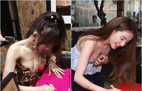 Hình ảnh bạo nhất của bạn gái Trấn Thành, Trường Giang nơi đông người - 4