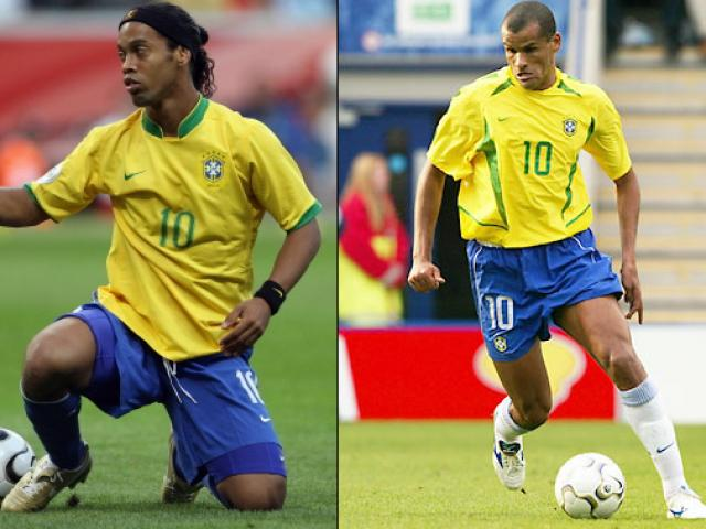 "'Phù thủy Brazil"": Rivaldo hay Ronaldinho?"