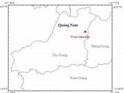 Tin tức trong ngày - Quảng Nam: Động đất mạnh 3,4 độ richter
