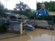 Tin tức trong ngày - Dân bức xúc vì cứ thủy điện xả nước, phải leo lên nóc nhà