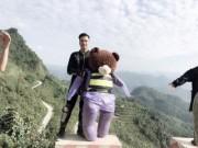 Bạn trẻ - Cuộc sống - Chàng sinh viên đưa gấu bông đi phượt gây sốt mạng