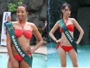 Thời trang - Choáng nặng vòng eo 81 cm của thí sinh Hoa hậu Trái đất