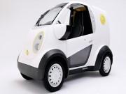 Tin tức ô tô - Honda tiết lộ mẫu Micro Commuter EV mới