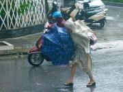 Ảnh hưởng bão số 7, Hà Nội mưa to từ chiều tối nay