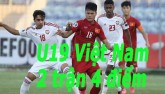 U19 Việt Nam – U19 UAE: Những chiến binh quả cảm