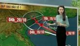 Dự báo thời tiết VTV 18/10: Bão số 7 mạnh thêm, lao nhanh về nước ta