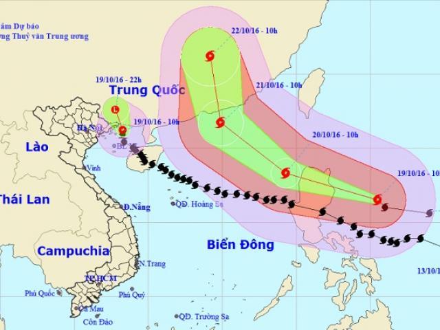 Bão số 7 suy yếu thành áp thấp nhiệt đới, miền Bắc mưa to
