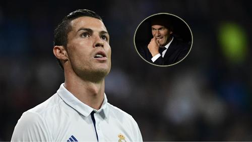 Real Madrid: Ronaldo tịt ngòi là lỗi của Zidane?