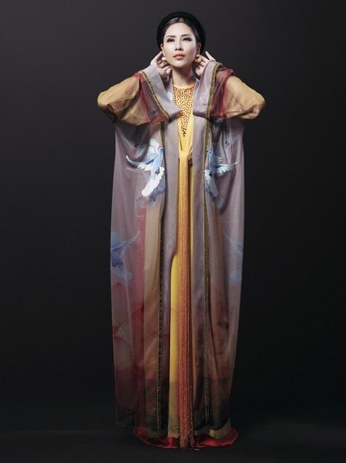 Ngắm quốc phục độc nhất của 4 nhan sắc thi quốc tế - ảnh 4