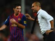 Bóng đá - Pep ngầm ý mời gọi Messi gia nhập Man City