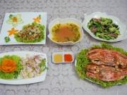 Ẩm thực - Đãi chị em bữa cơm 20-10 nhiều hải sản