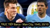 Chi tiết Barca – Man City: Neymar lên bảng tỷ số (KT)