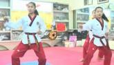 3 cô bé taekwondo Việt khóc òa khi vô địch thế giới