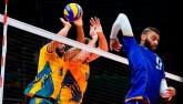 VĐV bóng chuyền cực dị: Ngược người đập không cần nhìn