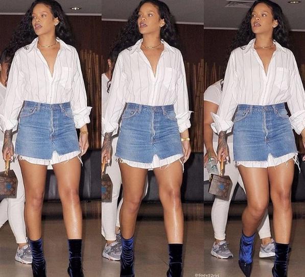 Hậu chia tay bạn trai, Rihanna ngày càng nóng bỏng - ảnh 3
