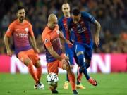 Bóng đá - Barcelona - Man City: 2 thẻ đỏ và một cú hat-trick