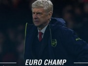 """Bóng đá - Arsenal """"đánh tennis"""", Wenger cán mốc 100 ở châu Âu"""
