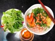 Ẩm thực - Mì Quảng trộn cho bữa sáng thêm ngon