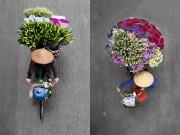 Du lịch - Xe hàng rong Hà Nội đẹp mê hồn nhìn từ trên cao
