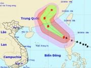 Tin tức trong ngày - Siêu bão Haima giật cấp 16 vào Biển Đông