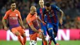Barcelona - Man City: 2 thẻ đỏ và một cú hat-trick