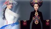 Ngắm quốc phục 'độc nhất' của 4 nhan sắc thi quốc tế
