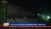 Lật tàu ở Huế, đường sắt Bắc - Nam tê liệt