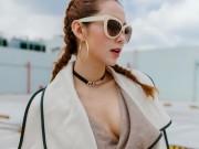 """Thời trang - Minh Hằng đẹp xuất sắc giữa """"núi"""" đồ hiệu khủng"""