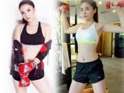 Thời trang - Kỳ Duyên gợi cảm, nuột nà tập gym khiến fan mê mệt