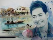 Bạn trẻ - Cuộc sống - 9X vẽ MC Phan Anh rạng rỡ ngắm miền Trung sau cơn bão lũ