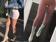 Tự chế giày 20 triệu đồng giống hot girl Hollywood