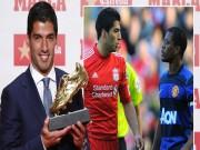 """Bóng đá - Suarez nhận Giày vàng, """"kẻ thù"""" Evra chủ động làm hòa"""