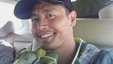 Khó nhận ra MC Phan Anh sau những ngày ở vùng lũ