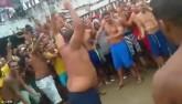 Video phạm nhân đấm nhau điên loạn trong tù Brazil