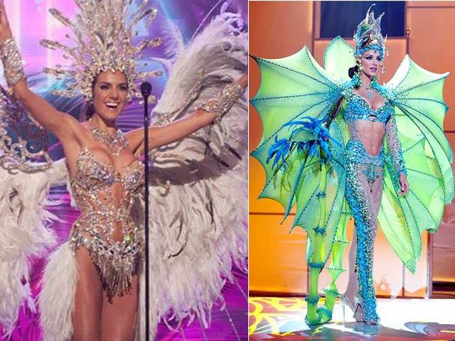Trang phục dân tộc sexy tới ngạt thở ở cuộc thi hoa hậu