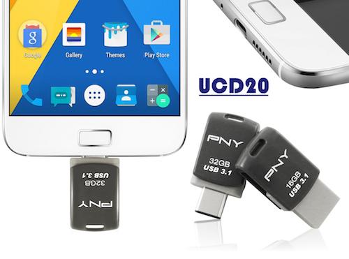 Ổ USB xoay 360 độ, tích hợp đồng thời 2 chuẩn kết nối - 152370