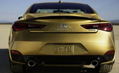 Ngắm Infiniti Q60 bản vàng đặc biệt đẹp lung linh