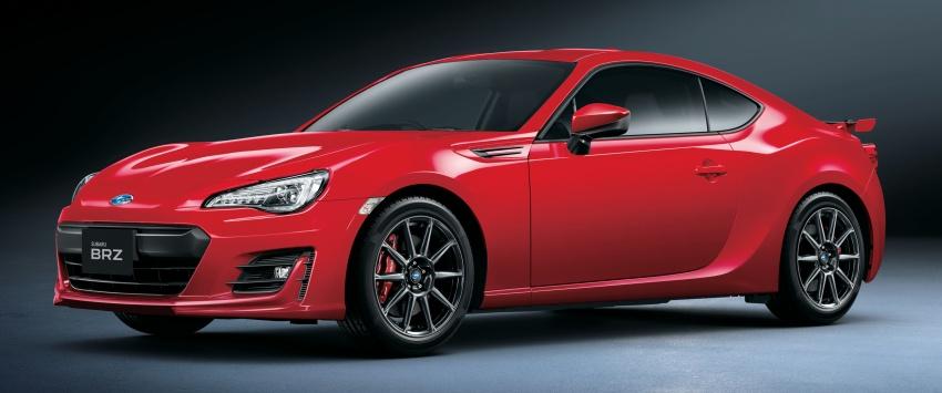 Soi chiếc coupe Subaru BRZ GT dành cho thị trường Nhật Bản
